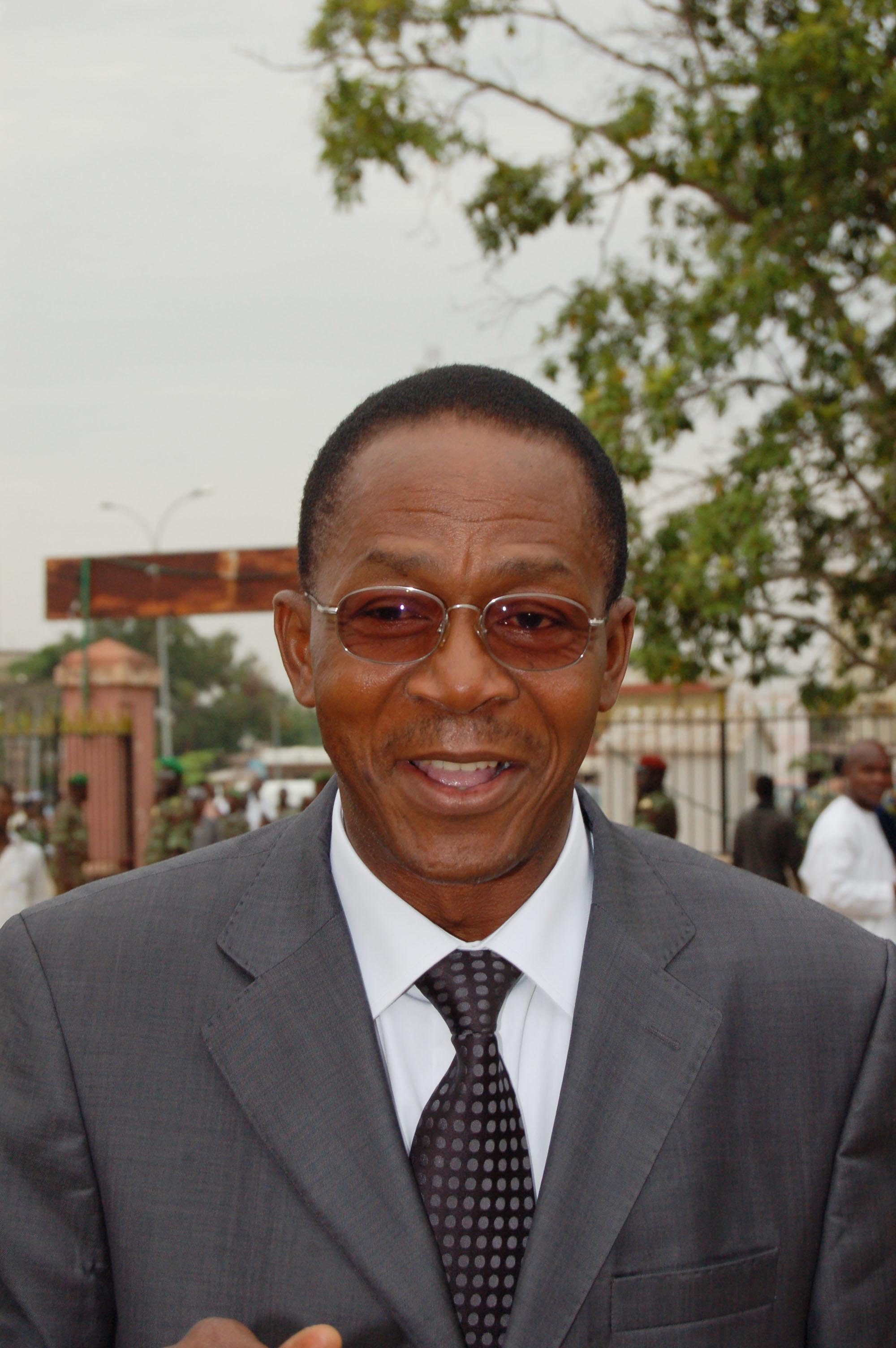 Mathurin NAGO, Président de l'Assemblée Nationale