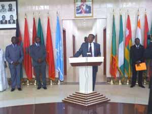le nouveau décor du ministère des affaires étrangères du Bénin