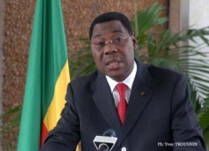 Le Président Boni Yayi
