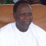 Le ministre de l'enseignement supérieur, François Abiola