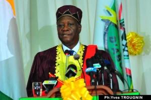 Le président Alassane Ouattara fait Docteur Honoris Causa de l'Université d'Abomey-Calavi