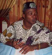 Aubin Akpohounkè, animateur de l'émission Hanlissa
