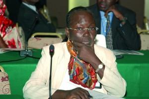 Hélène Aholou Kêkê, la présidente de la commission des lois