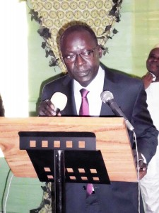 Le Président Abdoulaye BIO TCHANE