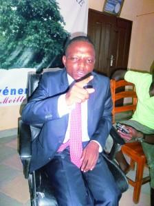 Le président de l'Union nationale des magistrats du Bénin (UNAMAB), Michel Adjaka
