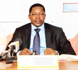 Le ministre Nassirou Bako Arifari