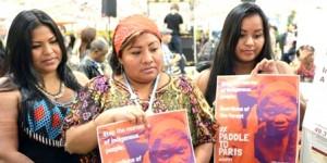 Des femmes indigènes d'Amérique du sud