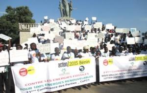 La mache des Béninois pour le climat OK