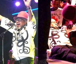 Papa Wemba s'écroule en plein concert à Abidjan