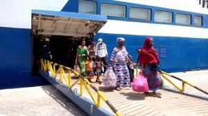 Passagers en provenance du Gabon