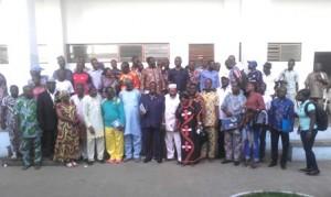 participants à l'issue de la journée de réflexion