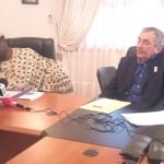 Idrissou Ibrahima et Claude Azema