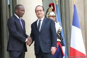 Talon et Hollande