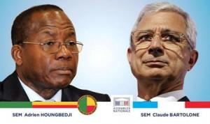 Claude Bartolone et Houngbedji
