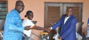 Mise œuvre des Programmes ProCad/Ppaao-Fa: Les transformatrices de lait de soja de Savè, Glazoué, Zogbodomey et Bohicon équipées